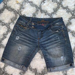 Almost Famous Bermuda Jean shorts